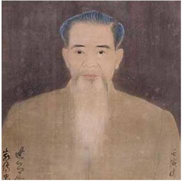 Self-portrait of Nguyen Phan Chanh